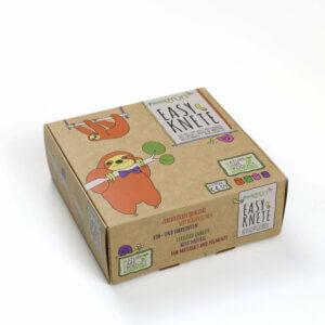 Easy-Knete von neogrün im Set, natürlich, unbedenklich, ohne Azofarbstoffe, ohne Alaun, ohne Parabene - vegan und umweltfreundlich