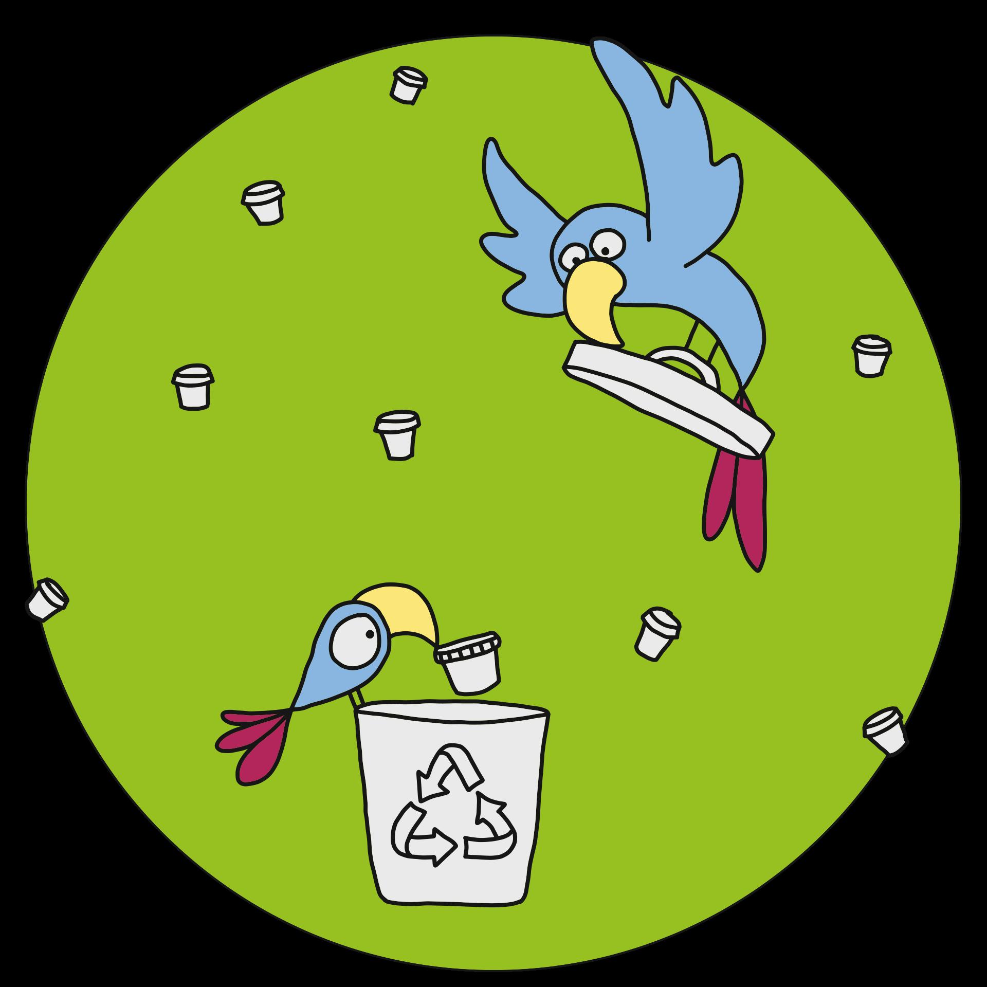 Recycling von Naturprodukten