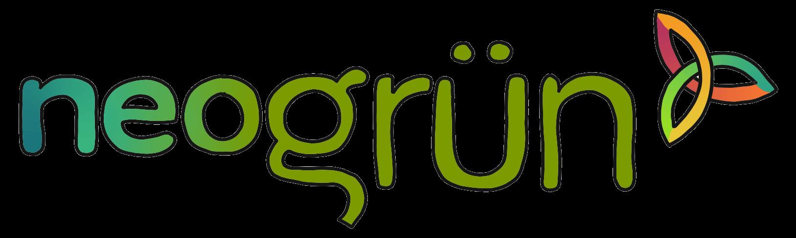 neogrün Logo - Bio-Fingerfarbe und Bio-Knete - Zertifiziert