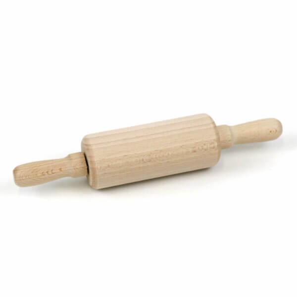 Teigrolle aus unbehandeltem Holz