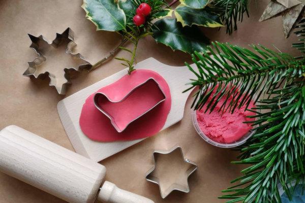 Weihnachtsdeko Nikolausstiefel