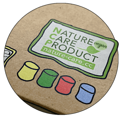 Nachhaltige Verpackung mit NCP-Label