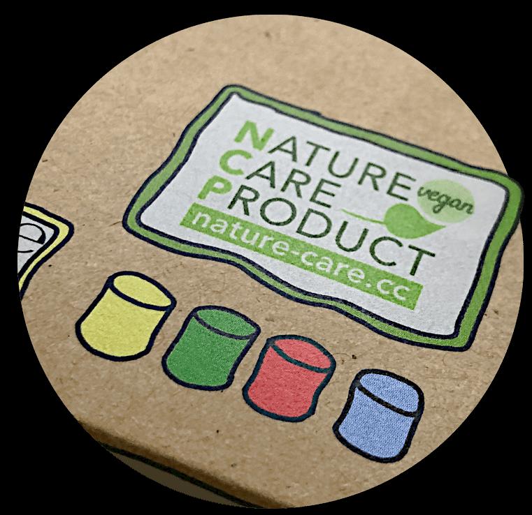 Verpackung mit NCP-Label