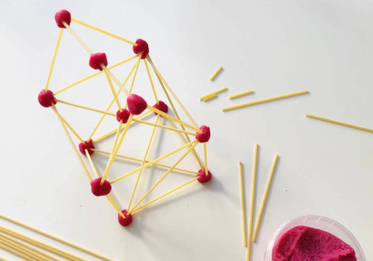 Tipps gegen Langeweile - Spaghetti mit Knete