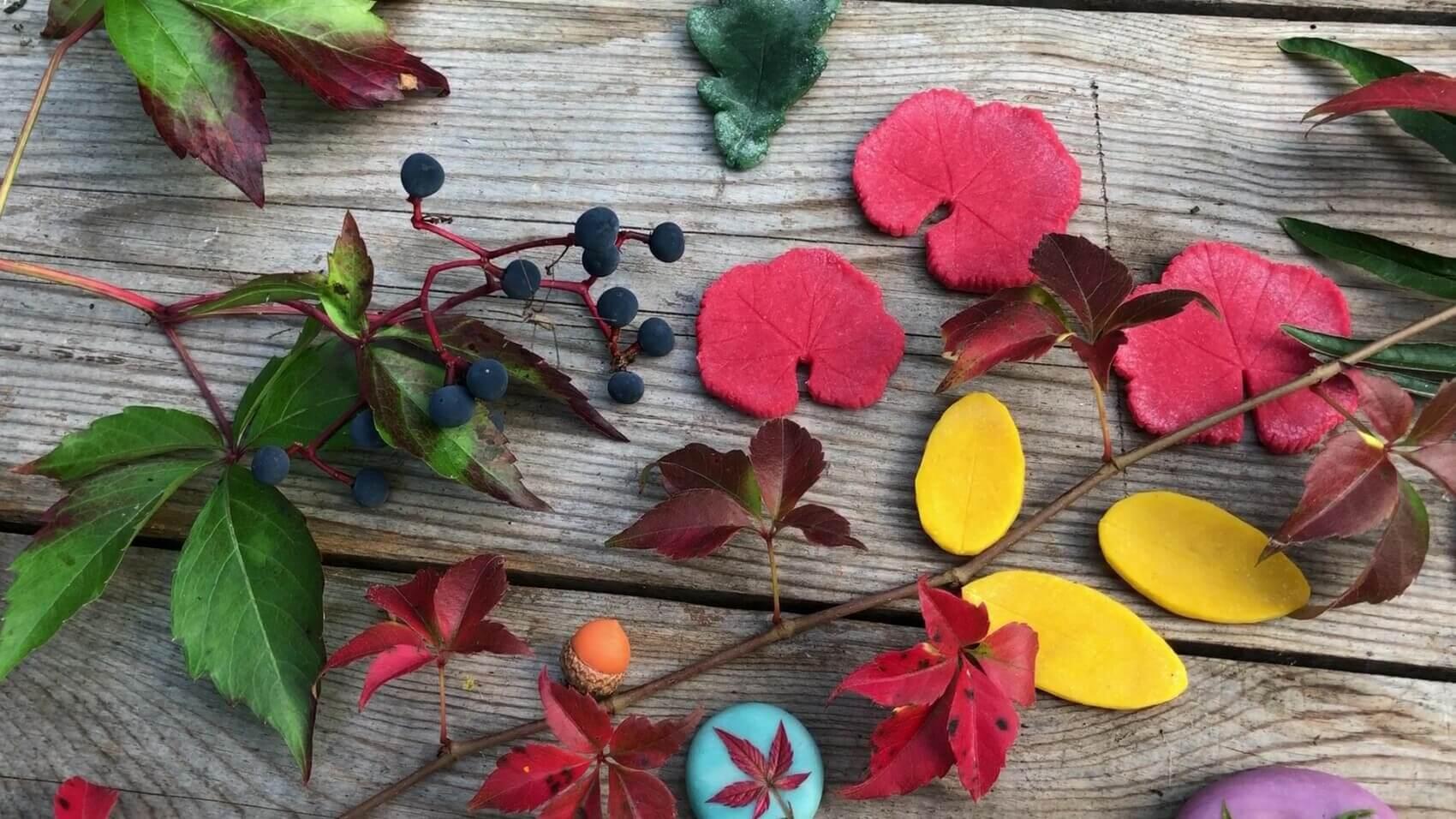 Herbst – Basteln mit Naturmaterialen